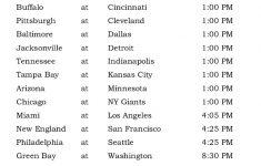 Printable NFL Week 11 Schedule Pick Em Office Pool 2016