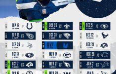 Seattle Seahawks Full 2021 2022 Schedule Seahawks