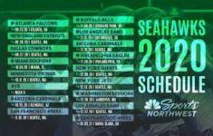 Seattle Seahawks Schedule 2021 Printable Schedule