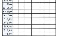 Study Schedule Printable Study Planner Printable Study