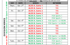 The MLB Postseason Schedule Is Confusing Bleed Cubbie