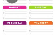 Weekly Cleaning Schedule Printable Today S Creative Life